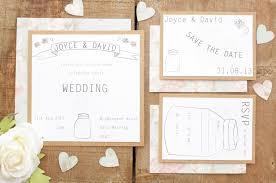 Lovely Vintage Wedding Invitation Set
