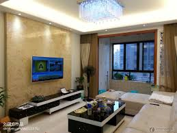 Living Room With Tv Net And Designs Best Wall Modern Small Apartment Background