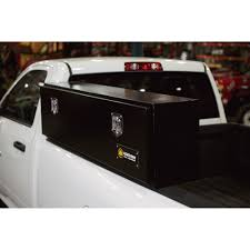 NORTHERN TOOL 48IN. Locking Top-Mount Gloss Black Truck Tool Box ...