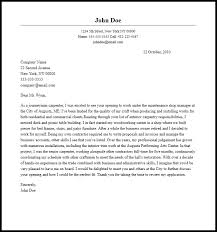 Professional Carpenter Cover Letter Sample & Writing Guide
