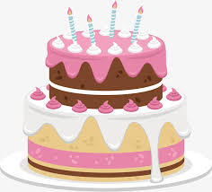Sweet pink cake Vector Cute Cake Pink Cake Free PNG and Vector