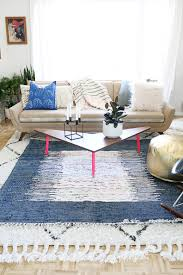 Layering Rugs With a Pop of Color