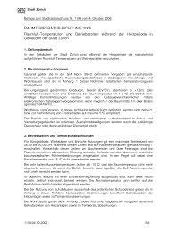 raumtemperaturrichtlinie stadtrat