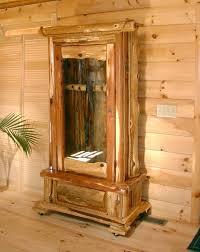 Rustic Red Cedar Gun Cabinet