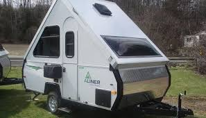 Aliner Ranger Pop Up Camper Rental NH