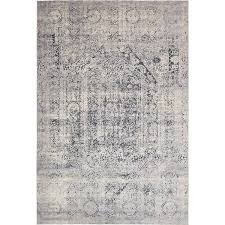 You ll love the Kenneth Rug in Gray & Dark Blue at Joss &amp