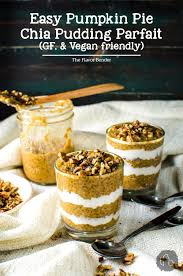 Pumpkin Pudding Paleo by Overnight Pumpkin Pie Chia Pudding Parfait Gf U0026 Vegan Friendly