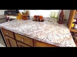 Painting Kitchen Countertops to Look Like Granite