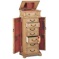 Beige Wood Jewelry Armoire - Steal-A-Sofa Furniture Outlet Los ... Necklace Holder Beautiful Handmade Armoire Jewelry Box Of Exotic Woods Fniture Best Wood Storage Material Design For Bedroom Outstanding Kohls Walmart Cherry In Decor Pretty Of Perfect Ideas Sale 28500 Classic Oak Coaster Co Wallmounted Locking Wooden 145w X 50h In Cabinet Organizer With 6 Drawers Armoires Hillary Rich Walnut Hives And Honey With Used Jewelry Armoire Abolishrmcom Readers Gallery Fine Woodworking Belham Living Swivel Cheval Mirror Hayneedle