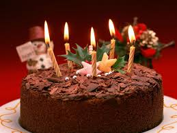 Beautiful Chocolate Happy Birthday Cake Hd