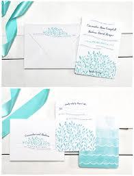Sea Mist Wedding Invitations