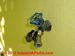 Fixing Outdoor Faucet Handle by Faucets Sill Cocks Hose Bibbs U0026 Hose Hook Ups Types
