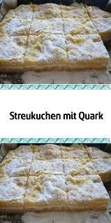 streukuchen mit quark süßesbacken ein sehr einfacher kuchen