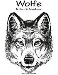 Wolves Coloring Book For Grown Ups 1