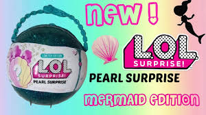 LOL Pearl Surprise Limited Edition New Mermaids Doll And Lil Sister