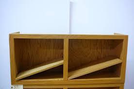 oak cabinet with 2 shelves moving auction 547 k bid