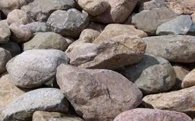 Dresser Trap Rock Boulders by Holtz Landscaping U003e Landscaping U003e Rock Stone Brick