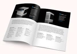 Blank magazine spread Blank magazine spread on a wooden ta…