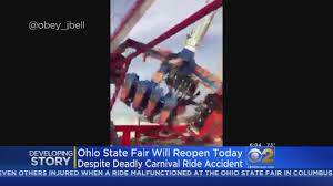 Ohio State Pumpkin Designs by 1 Killed 7 Injured When Carnival Ride At Ohio State Fair Breaks
