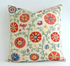 Bohemian Throw Pillows Living Outdoor Unique