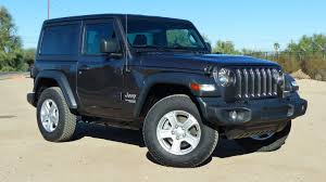 The Four-Cylinder 2018 Jeep Wrangler's 24 MPG Makes It The First Not ...