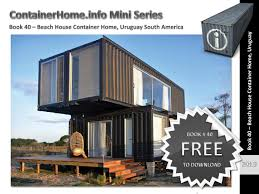 100 Shipping Container Beach House Homes Book 40 By Shippingcontainerhomes