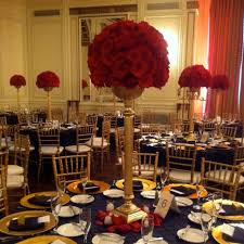 Ideas About Red Black Gold Wedding Theme