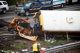 School Bus Crashes Into Dump Truck In New Jersey | PEOPLE.com Investigators Probe Cause Of School Bus Crash That Killed 2 Naples Nj Transit Bus Driver Killed After Headon Crash With Garbage Truck Truck Crashed Into A Wooded Area Goffle Brook Park In New Jersey Police 3 Seriously Injured In Woman Struck By Dump Union Citytuesday Morning 1 Cop Dead Injured After Headon Nyc The Morning Call Hurt On Route 70 Pemberton Twp Two 43 Torn Apart Tanker Accident Turnpike Dozens When Collides With