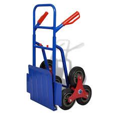 100 Hand Truck Stair Climber Flat Folding Sack Cart 6 Wheel Trolley Object Carrier