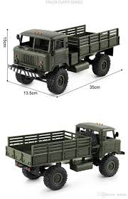 100 16 Truck Wheels 1 Remote Control Military 6 24G 4WD Drive Off Road