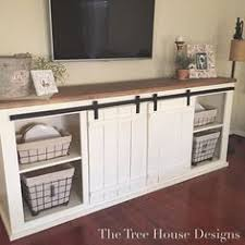 grandy sliding door console do it yourself home projects from