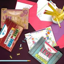 Paquete Con 10 Cartas Y 10 Sobres