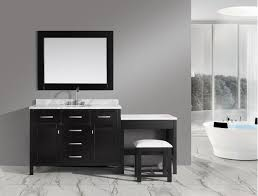 Bathroom Vanities With Matching Makeup Area by Espresso Makeup Vanity Set Home Styles Bermuda Espresso Makeup