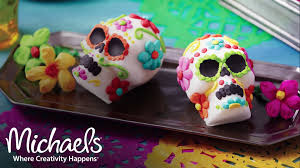 Michaels Cake Decorating Tips by Wilton Sugar Skulls Halloween Costumes U0026 Party Michaels Youtube