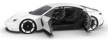 Porsche Mission E Concept Is Beautiful