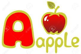 A alphabet letter apple clipart BBCpersian7 collections