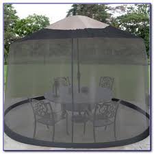 Mosquito Netting For Patio Umbrella Black by Patio Umbrella Mosquito Net Canada Patios Home Decorating