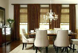 Dining Room Drapes Window Treatments Formal Drape Kitchen Blinds