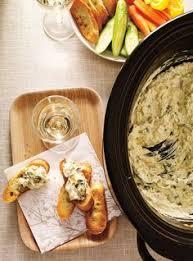 ricardo cuisine noel trempette chaude aux artichauts à la mijoteuse ricardo noel