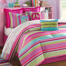 Pink And Mint Green Twin Bedding