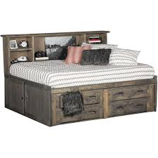 Cheyenne Driftwood Twin Roomsaver Captain s Bed