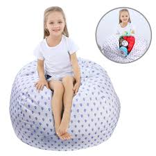 WOYAGE Stuffed Animal Bean Bag Storage Chair | Stuffed Animal Storage Sack  |Stuff N Sit Kids' Furniture | Childrens Bean Bag Chairs (Raindrops, XL) Childrens Bean Bag Chairs Site About Children Kids White Pool Soothing Company Stuffed Animal Chair For Extra Large Empty Beanbag Kid Toy Storage Covers Your Childs Animals And Flash Fniture Oversized Solid Hot Pink Babymoov Transat Dmoo Nid Natural Amazonde Baby Big Comfy Posh With Removable Cover Teens Adults Polyester Cloth Puff Sack Lounger Heritage Toddler Rabbit Fur Teal Easy With Beans Game Gamer Sofa Plush Ultra Soft Bags Memory Foam Beanless Microsuede Filled Yayme Flamingo Girls Size 41 Child Quality Fabric Cute Design 21 Example Amazon Galleryeptune Premium Canvas Stuffie Seat Only Grey Arrows 200l52 Gal Amazoncom