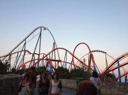 khan port aventura khan and shambhala roller coasters picture of