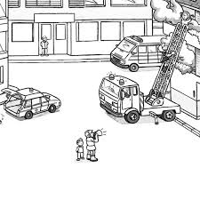 Medquit » Fire Truck Coloring Pages NAXK Free Fire Truck Coloring ...