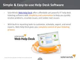 Solarwinds Help Desk Free by 5 Geek Tips For Choosing The Right Help Desk Solution