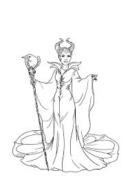 Coloring Pages Of The Evil Queen Best Disney Villains