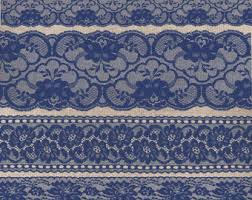 Navy Blue Lace Borders Clipart Rustic Wedding Png Clip Art Overlays