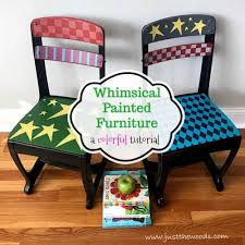 Whimsical Painted Furniture - A Colorful Makeover You'll Love 65 Best Front Yard And Backyard Landscaping Ideas Designs Lets Do Whimsical Outdoor Ding Making It Lovely A Romantic Garden Wedding Every Last Detail Stevenson Manor Upholstered Side Chair With Turned Legs By Standard Fniture At Household Club Pair Vintage Rebar Custom Painted Vegetable Back Bistro Chairs 25 Patio To Buy Right Now Carate Batik Lagoon Rounded Corners Cushion Blue 6 Montage Antiques Display Of Counter Stool Jugglingelephants