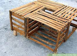 Crate Coffee Table Crte Tble Mosin For Sale Wooden Milk Diy