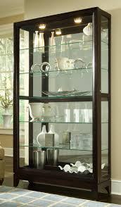 curio cabinet 20661 two way sldg door curio